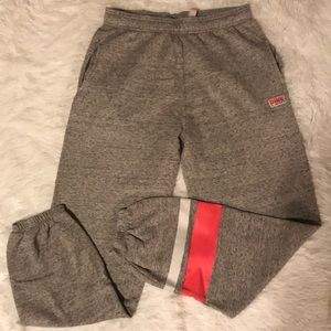 PINK Joggers with pockets, Gray, Small